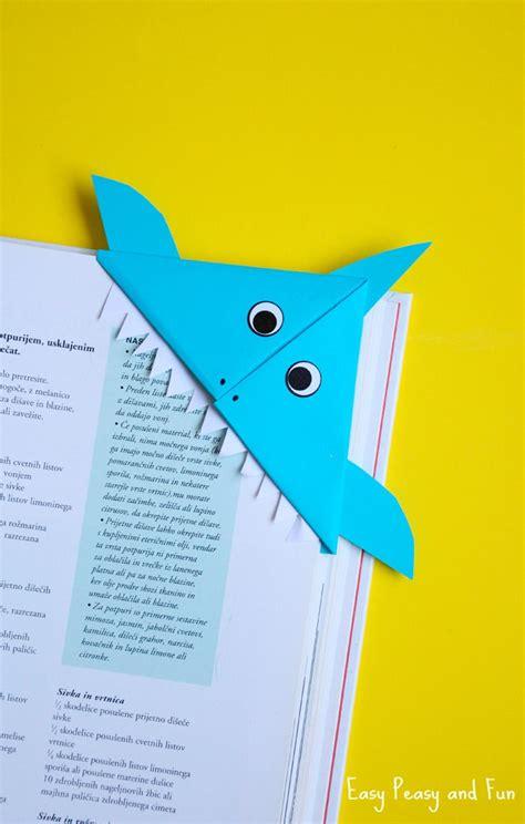 printable shark bookmarks shark corner bookmark easy peasy and fun