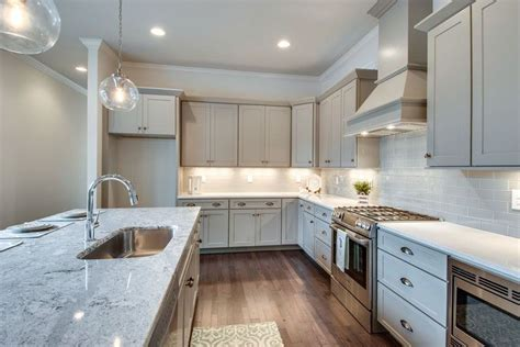 light gray granite countertops 25 beautiful transitional kitchen designs pictures