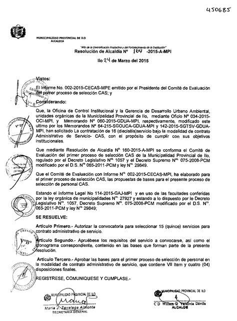 convocatoria para la contratacion administrativa de servicios de primera convocatoria para el proceso de contrataci 243 n