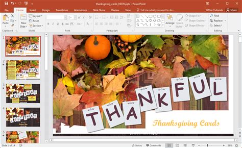 powerpoint themes thanksgiving animated thanksgiving powerpoint template