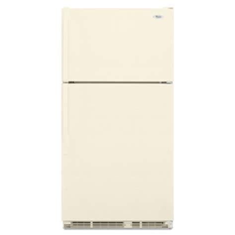 bisque colored refrigerators 28 images shop whirlpool shop whirlpool 18 9 cu ft top freezer refrigerator