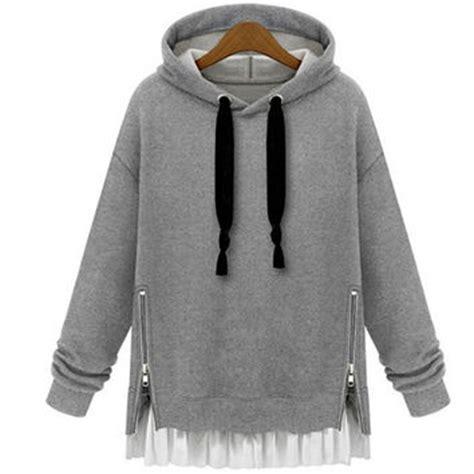 Hoodie 3 Wisata Fashion Shop shop side zipper sweater on wanelo