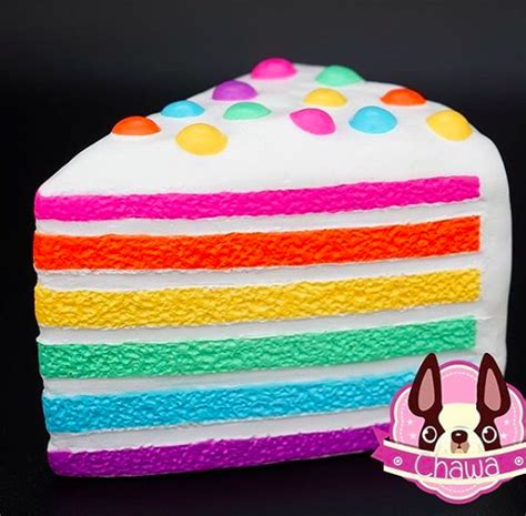 Squishy Rainbow Cake by Chawa Rainbow Cake Gift Ideas Rainbow