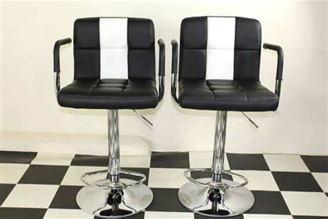 American Diner Style Bar Stools by Boton Retro Style Kitchen Breakfast Bar Stool American
