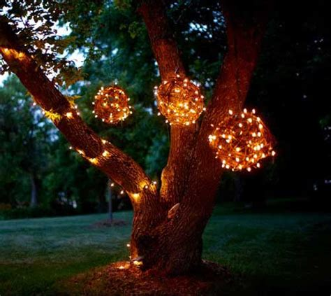 Lighted Spheres Outdoor The Magic Of Lights For Decorating Lights Etc