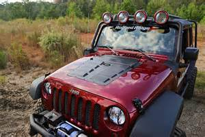 Jeep Wrangler Louvers Rugged Ridge Introduces New Louvers For 07 14