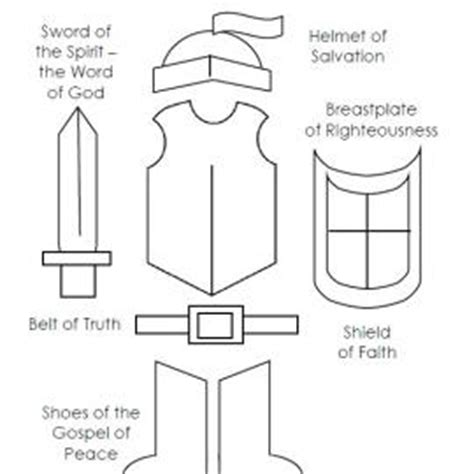 Armor of *** Coloring Page