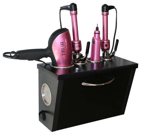 Curling Iron Dryer And Flat Iron Holder Wall Mount curling iron dryer and flat iron holder wall