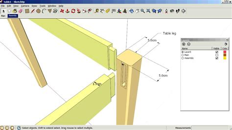 sketchup tutorial on layers sketchup using scenes and layers youtube