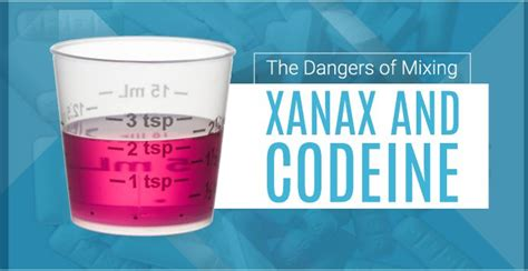 Xanax Detox Centers California by The Dangers Of Mixing Xanax And Codeine