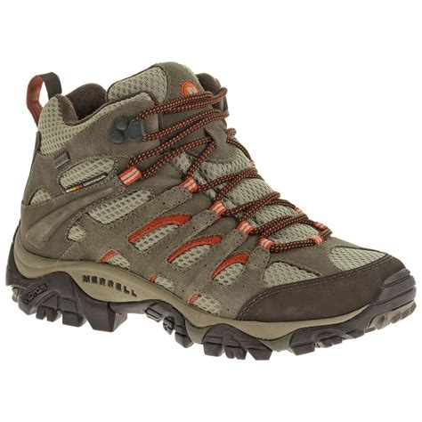 s discount hiking boots s merrell 174 moab waterproof hiking boots bungee cord