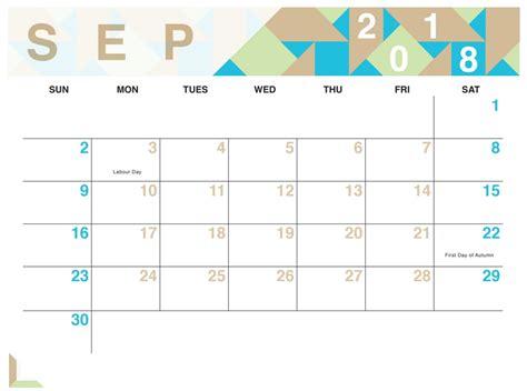 geometric free printable 2018 calendar calendar 2018