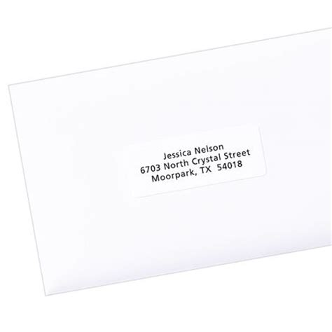 avery avery easy peel address label for inkjet printers