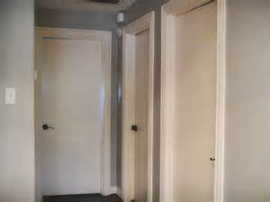 White Painted Interior Doors Smooth Interior Doors Before A Well Dressed Home Ideas Diy New Ranch