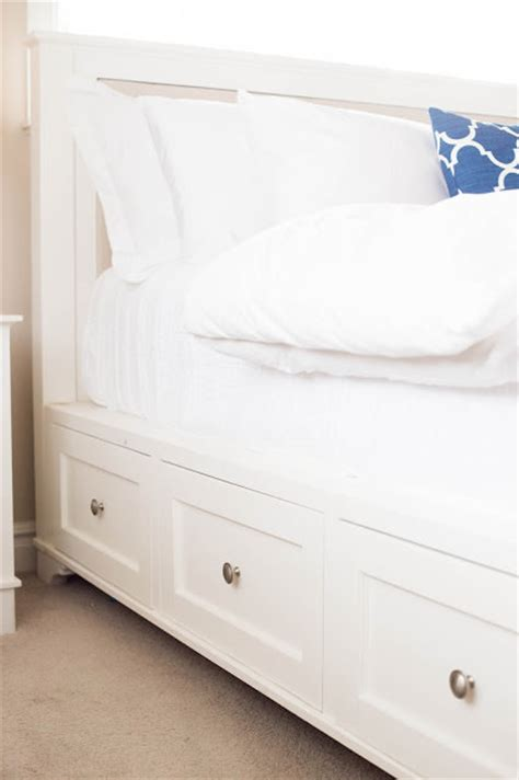 diy ikea storage bed diy storage beds the budget decorator