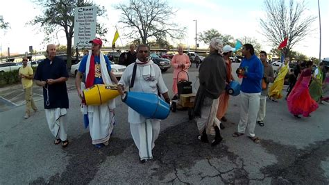 jacksonville truck jam chanting hare krishna before the truck jam in