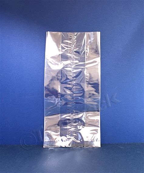 Cellophane Gift Bags Uk - cellophane gusset bags 150mm x 230mm x 355mm clear