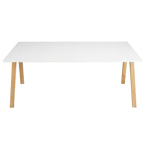 table a manger 10 personnes table 224 manger extensible 8 224 10 personnes blanche l200