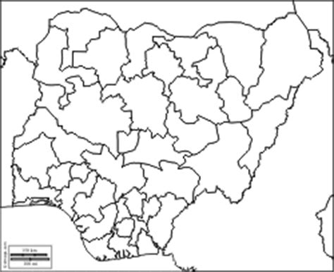 nigeria map coloring page map of nigeria free coloring pages