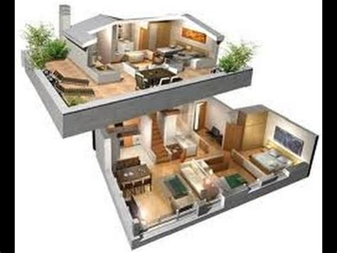 planos de casas en 3d planos de casas en 3d de dos plantas