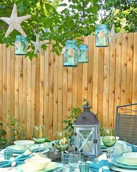 backyard beach theme 27 fun and airy beach style outdoor living design ideas