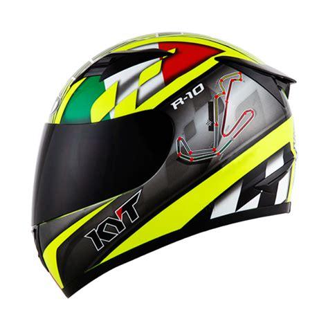 Rachet Gear Kyt Vendetta flat visor akan hadir untuk varian helm kyt yang