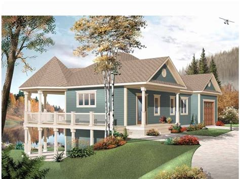 water view house plans water view home plans fresh waterview vacation home plan