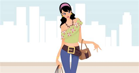 fashion illustration vector fashion shopping vector free design 4 all