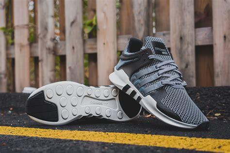 adidas eqt adidas eqt support adv grey core black sneaker bar detroit