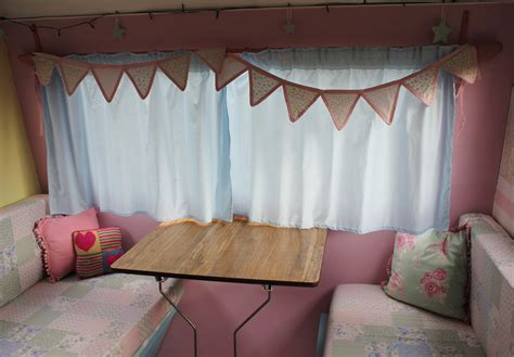 how to make caravan curtains window treatment cassiefairy my thrifty life