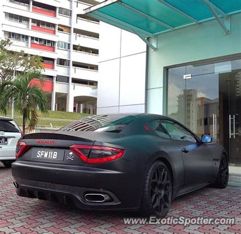 maserati singapore maserati granturismo spotted in singapore singapore on 10