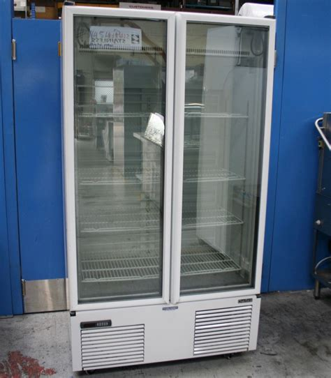 1 500 Commercial Two Glass Doors Upright Freezer For Sale Glass Door Freezer For Sale