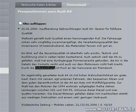 Audi Kulanzantrag by Bild 1 S4 Rost An Der Hecklappe Kulanzantrag Stellen