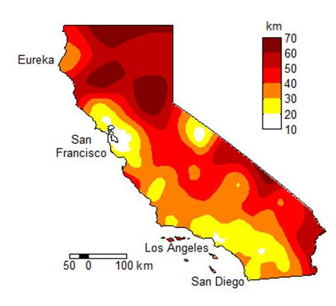 seismic zone map california improving earthquake early warning systems for california