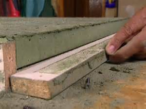 how to build a concrete countertop how tos diy