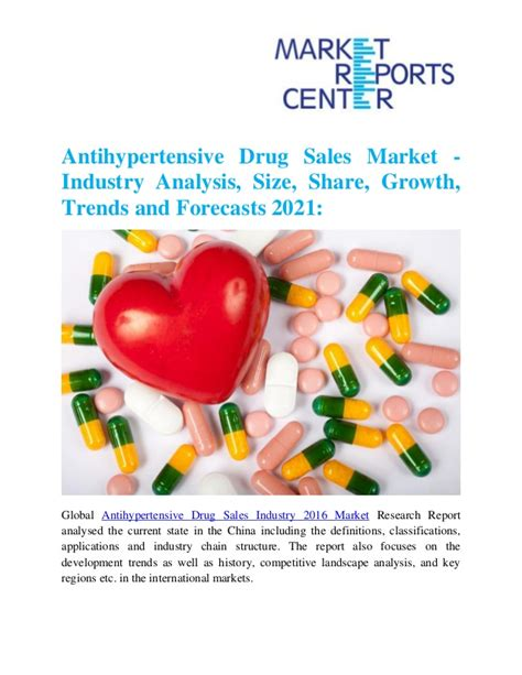 Inpatient And Detox Rehab Industry Analysis by Antihypertensive Sales Market Industry Analysis