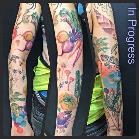 vegetable tattoo pinterest vegetable tattoos veggie vegetable radish tattoos
