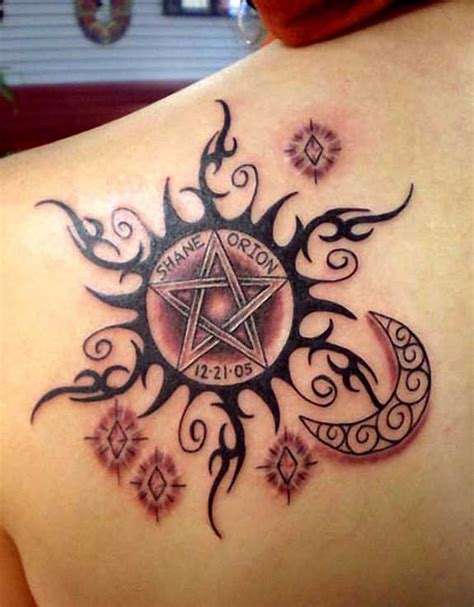 43 elegant sun tattoos designs