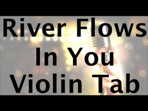 youtube tutorial river flows in you learn river flows in you on violin how to play tutorial