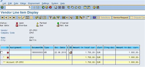 general ledger sap easy access valuating of open items in foreign currency erp