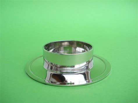 kerzenhalter 6 cm kerzenhalter rund silberfarben gl 228 nzend innen 6 cm