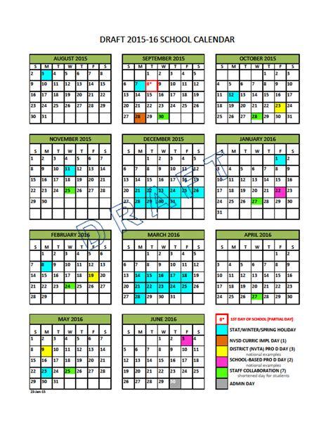 Columbia Schools Calendar School Calendar Steering Vancouver School