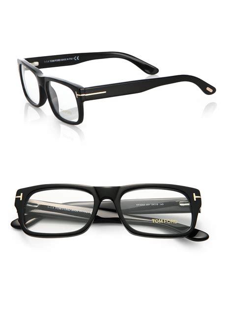 Frame Tomford525 tom ford 5253 bold optical frames in black for lyst