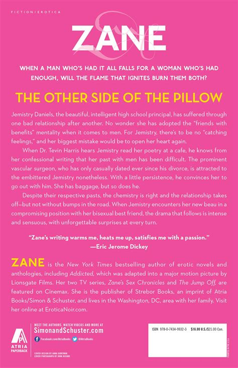 Other Side Of The Pillow by The Other Side Of The Pillow Book By Zane Official