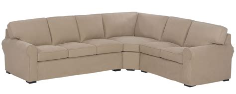 Slipcovered Sectional Sofa Slipcovered Sectional With Chaise And Sleeper Sofa Option