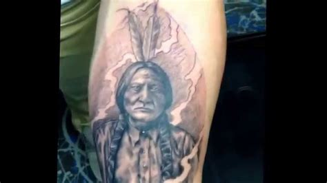 sitting bull tattoo sitting bull
