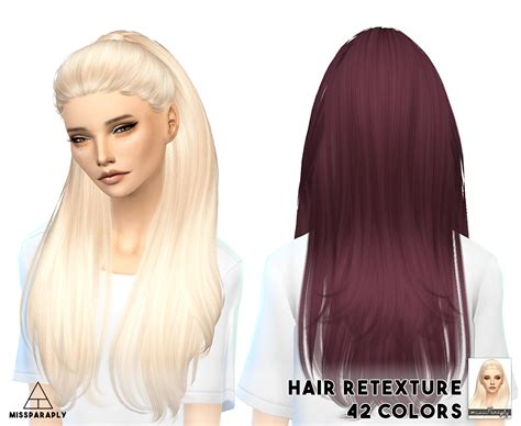 the sims 4 hair cc miss paraply nightcrawler s break free hairstyle