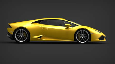 Lamborghini Side by Yellow Lamborghini Hurac 225 N Lp 610 4 Side View Eurocar News