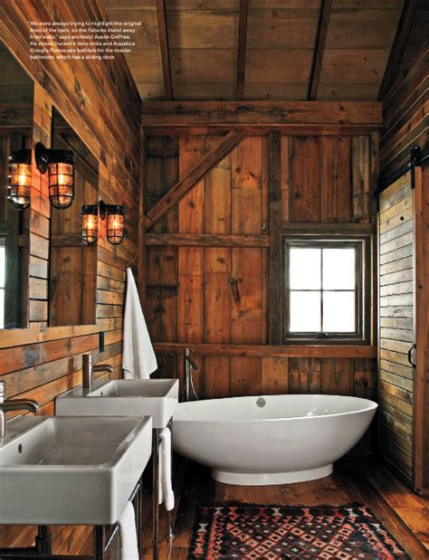 cabin bathroom designs rustic wood bathroom