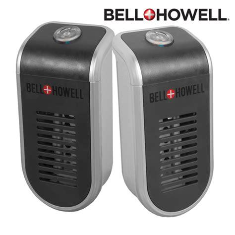 heartland america bell howell ionic maxx air purifier 2 pack